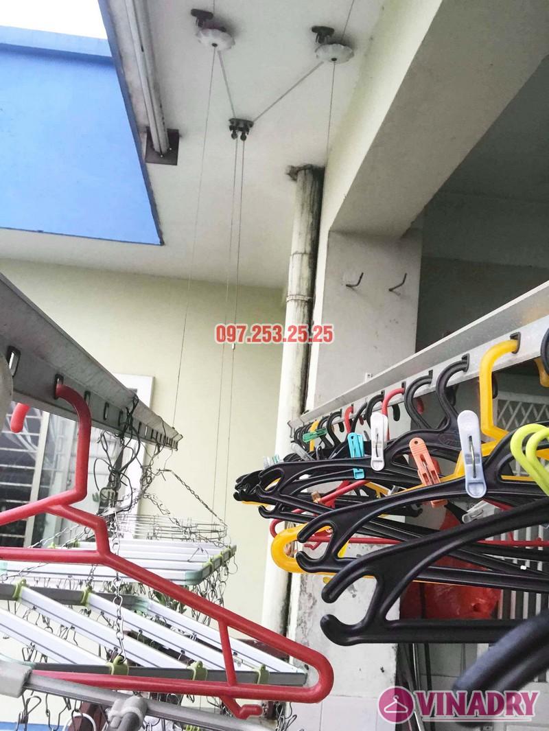 Sửa giàn phơi, thay linh kiện giá rẻ tại Hà Nội nhà chị Hà, KĐT Việt Hưng - 06
