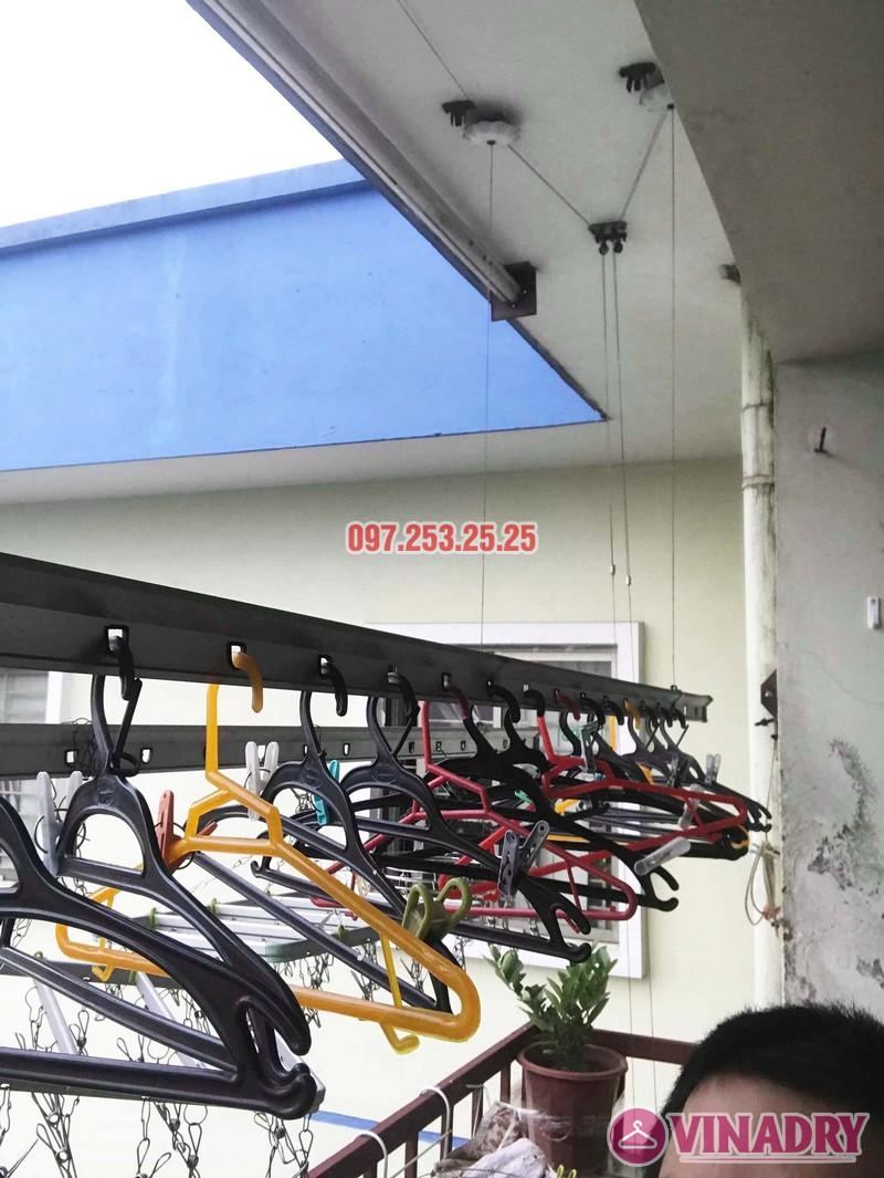 Sửa giàn phơi, thay linh kiện giá rẻ tại Hà Nội nhà chị Hà, KĐT Việt Hưng - 07