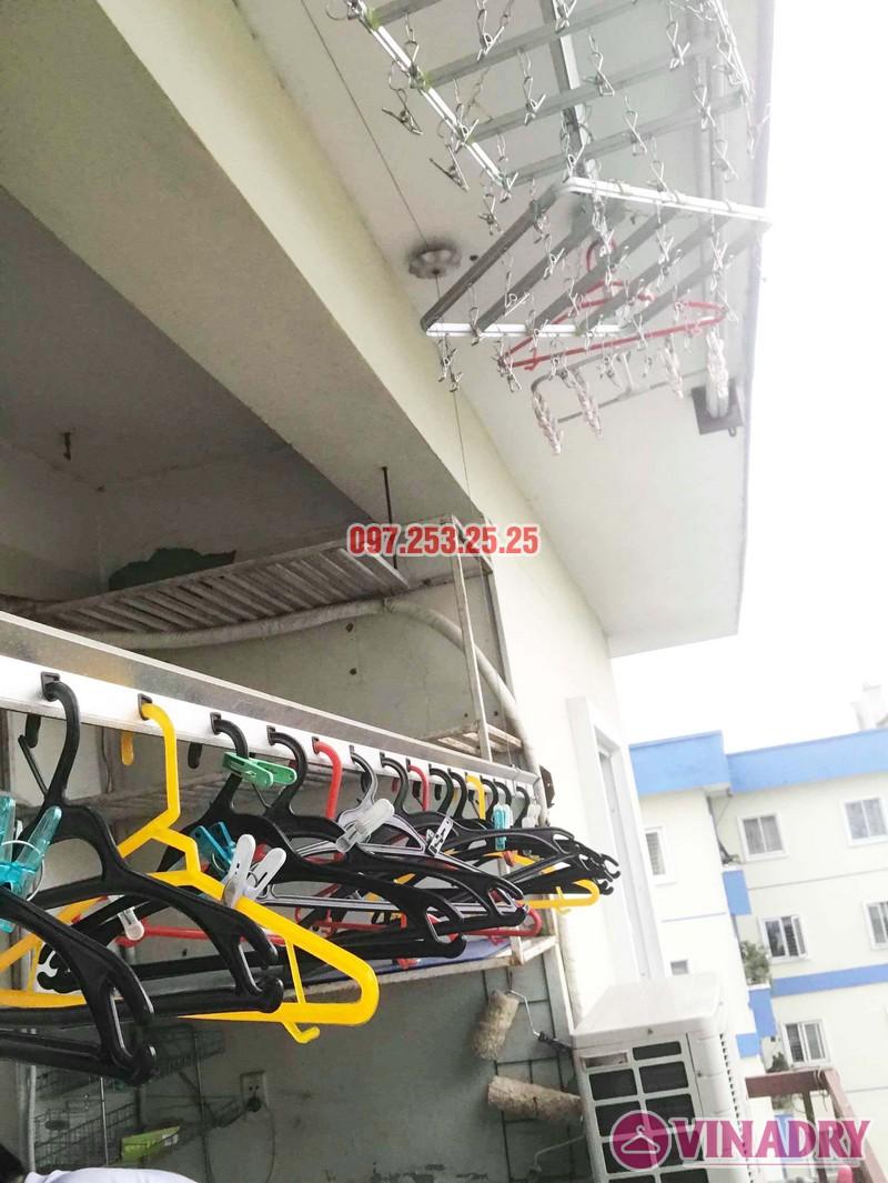 Sửa giàn phơi, thay linh kiện giá rẻ tại Hà Nội nhà chị Hà, KĐT Việt Hưng - 08