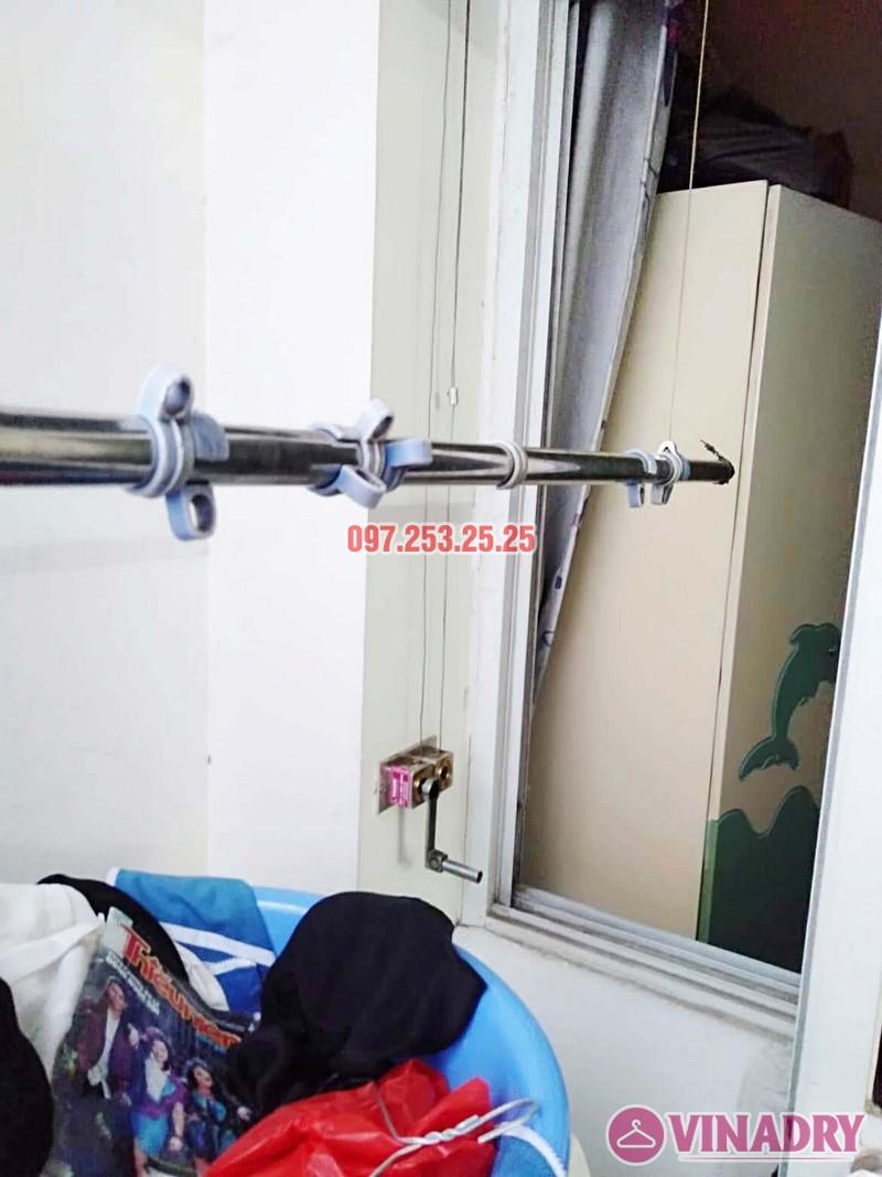 Sửa giàn phơi quần áo thông minh tại Hoàng Mai, chung cư HH2A, KĐT Linh Đàm - 02