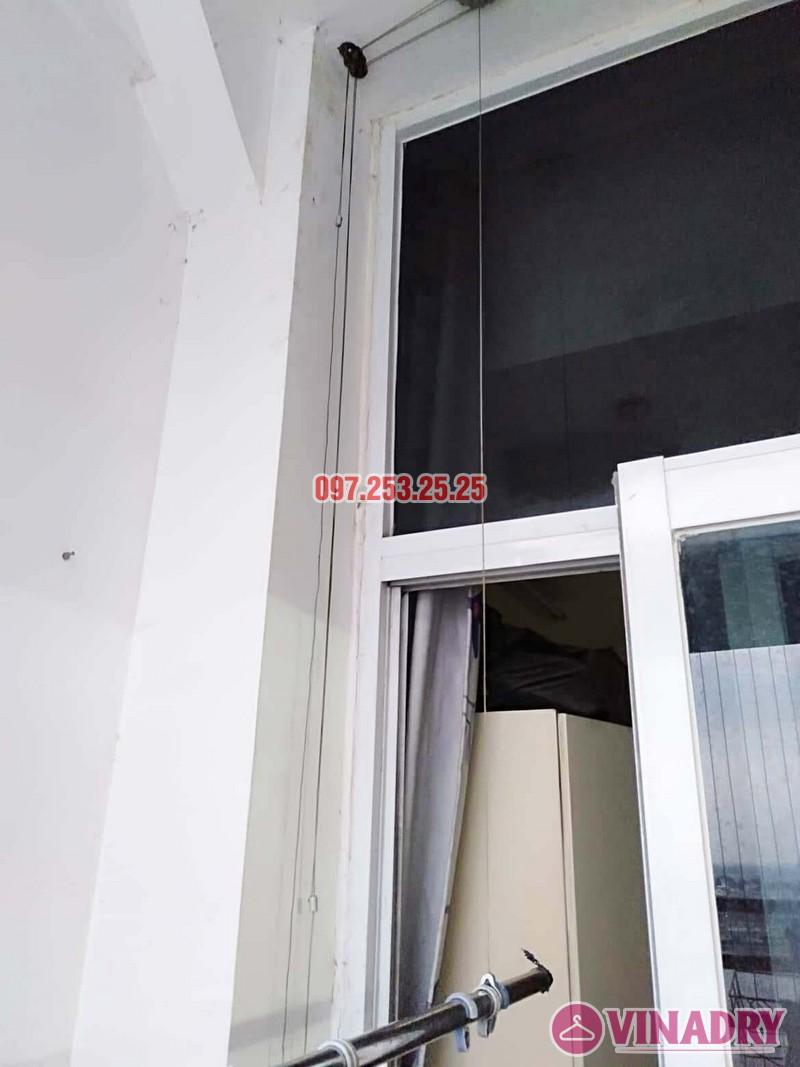 Sửa giàn phơi quần áo thông minh tại Hoàng Mai, chung cư HH2A, KĐT Linh Đàm - 03
