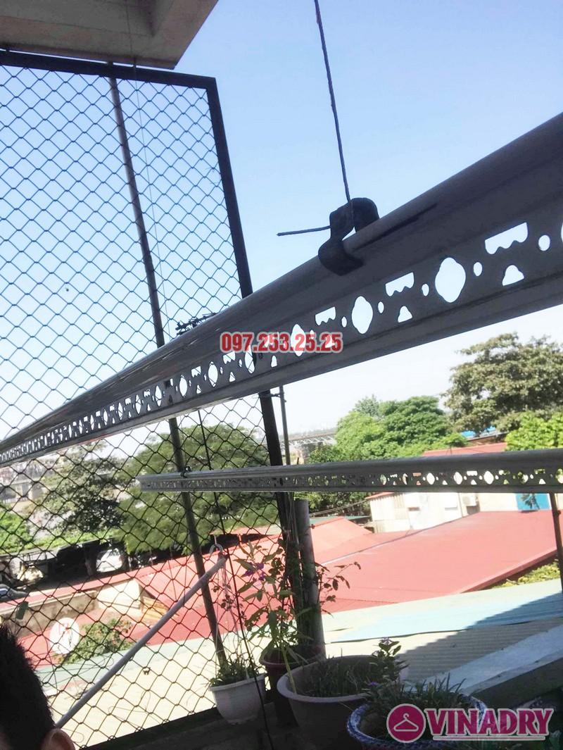 Sửa giàn phơi thông minh giá rẻ tại Gia Lâm, Hà Nội nhà chị Hảo - 02