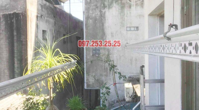 Sửa giàn phơi thông minh giá rẻ tại Gia Lâm, Hà Nội nhà chị Hảo - 03
