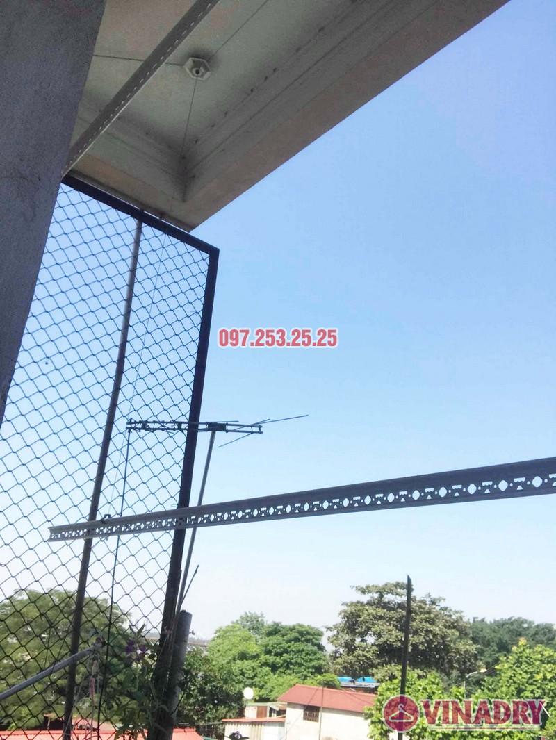 Sửa giàn phơi thông minh giá rẻ tại Gia Lâm, Hà Nội nhà chị Hảo - 04