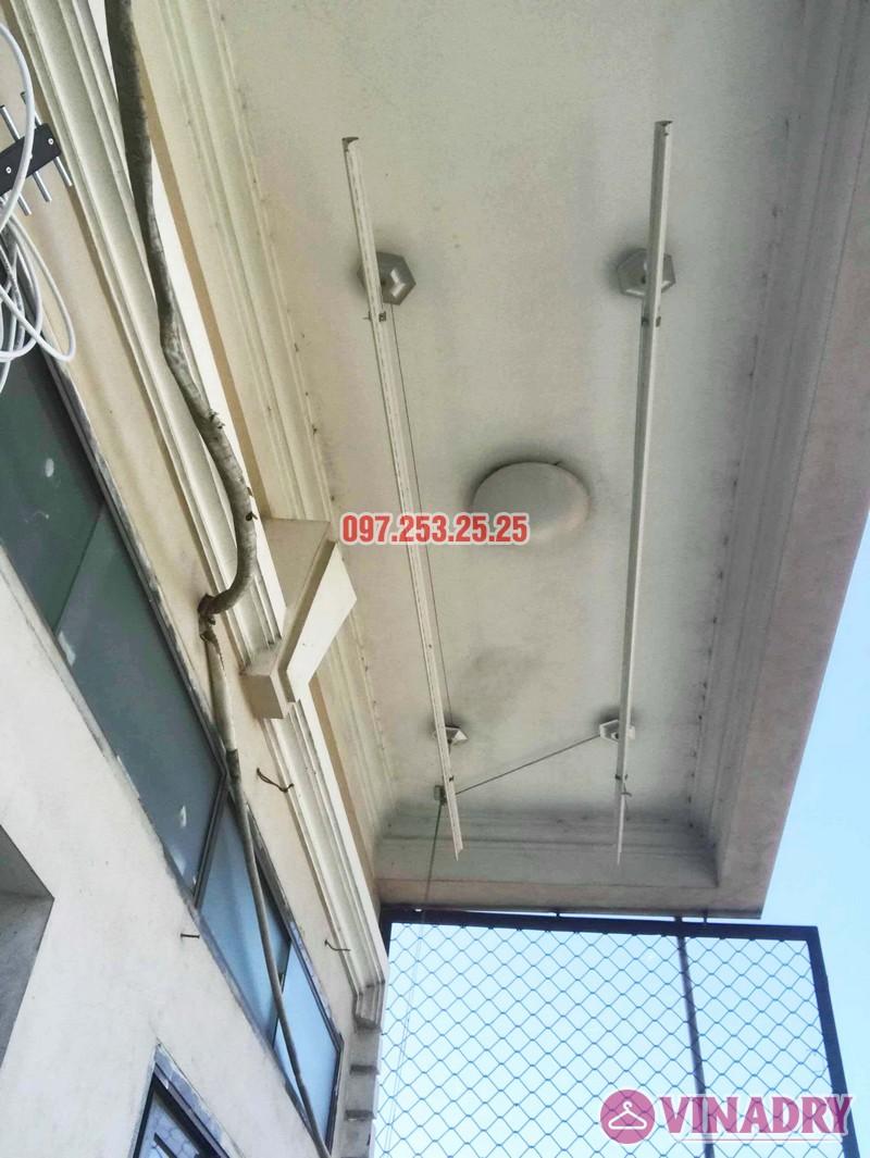 Sửa giàn phơi thông minh giá rẻ tại Gia Lâm, Hà Nội nhà chị Hảo - 06