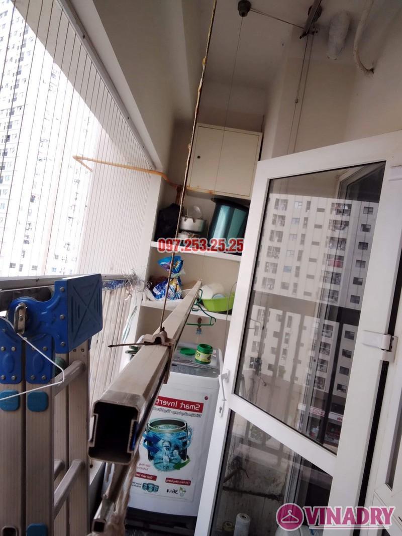 Sửa giàn phơi thông minh tại Hà Đông nhà anh Dũng, căn 707, chung cư HH2E Dương Nội - 01