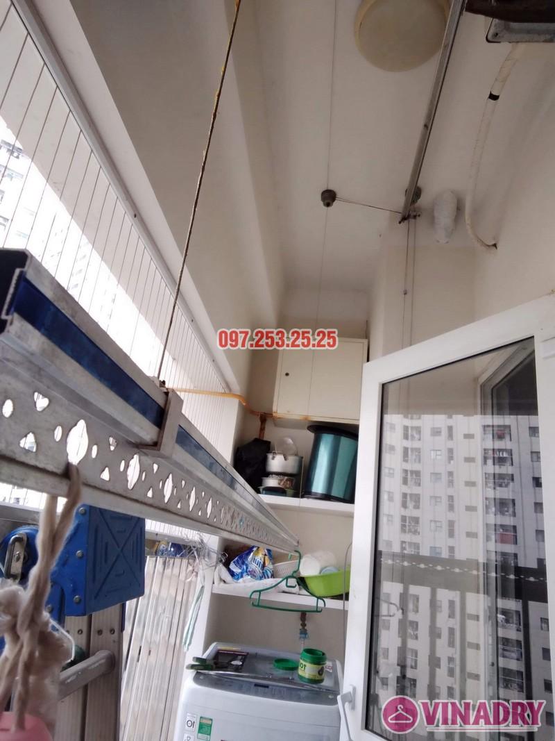 Sửa giàn phơi thông minh tại Hà Đông nhà anh Dũng, căn 707, chung cư HH2E Dương Nội - 03