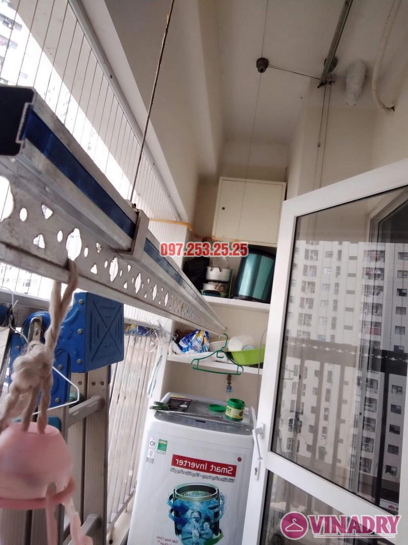 Sửa giàn phơi thông minh tại Hà Đông nhà anh Dũng, căn 707, chung cư HH2E Dương Nội - 04