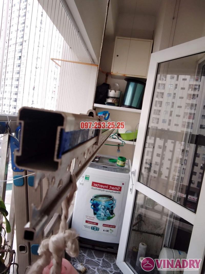 Sửa giàn phơi thông minh tại Hà Đông nhà anh Dũng, căn 707, chung cư HH2E Dương Nội - 05