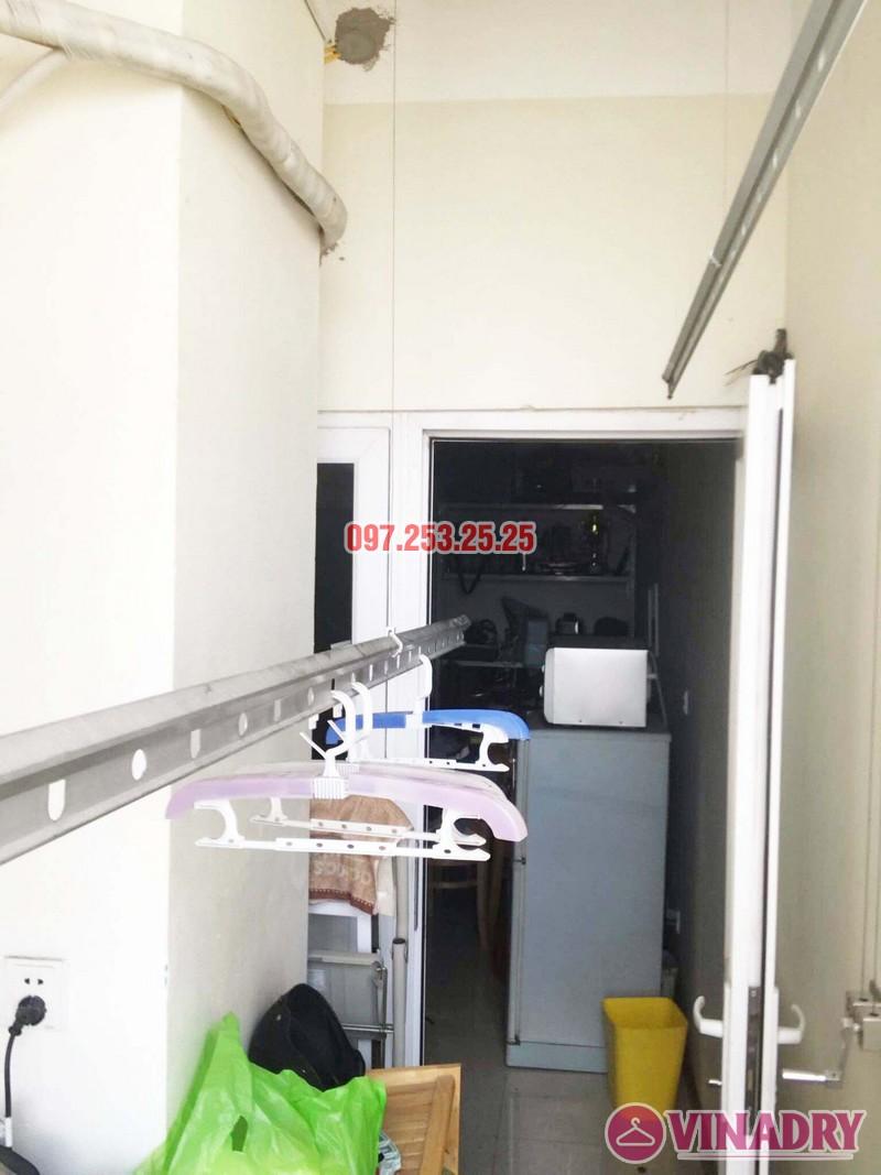 Sửa giàn phơi quần áo giá rẻ tại Hai Bà Trưng nhà chị Nga, chung cư Thăng Long Garden - 04