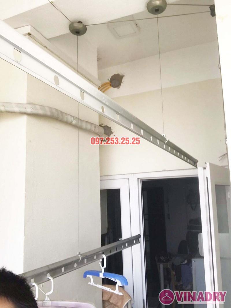Sửa giàn phơi quần áo giá rẻ tại Hai Bà Trưng nhà chị Nga, chung cư Thăng Long Garden - 05