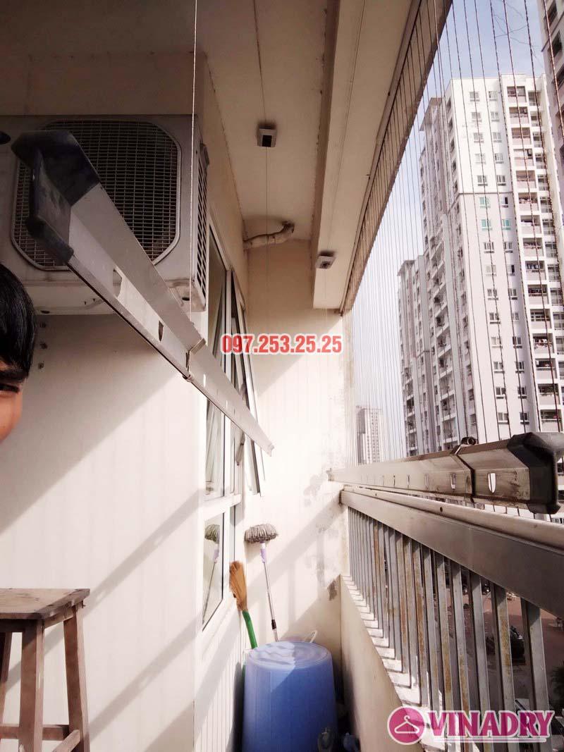 Sửa giàn phơi tại chung cư CT2 Hoàng Văn Thái, Thanh Xuân, Hà Nội nhà chị Trà - 01
