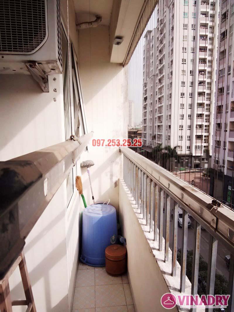 Sửa giàn phơi tại chung cư CT2 Hoàng Văn Thái, Thanh Xuân, Hà Nội nhà chị Trà - 03