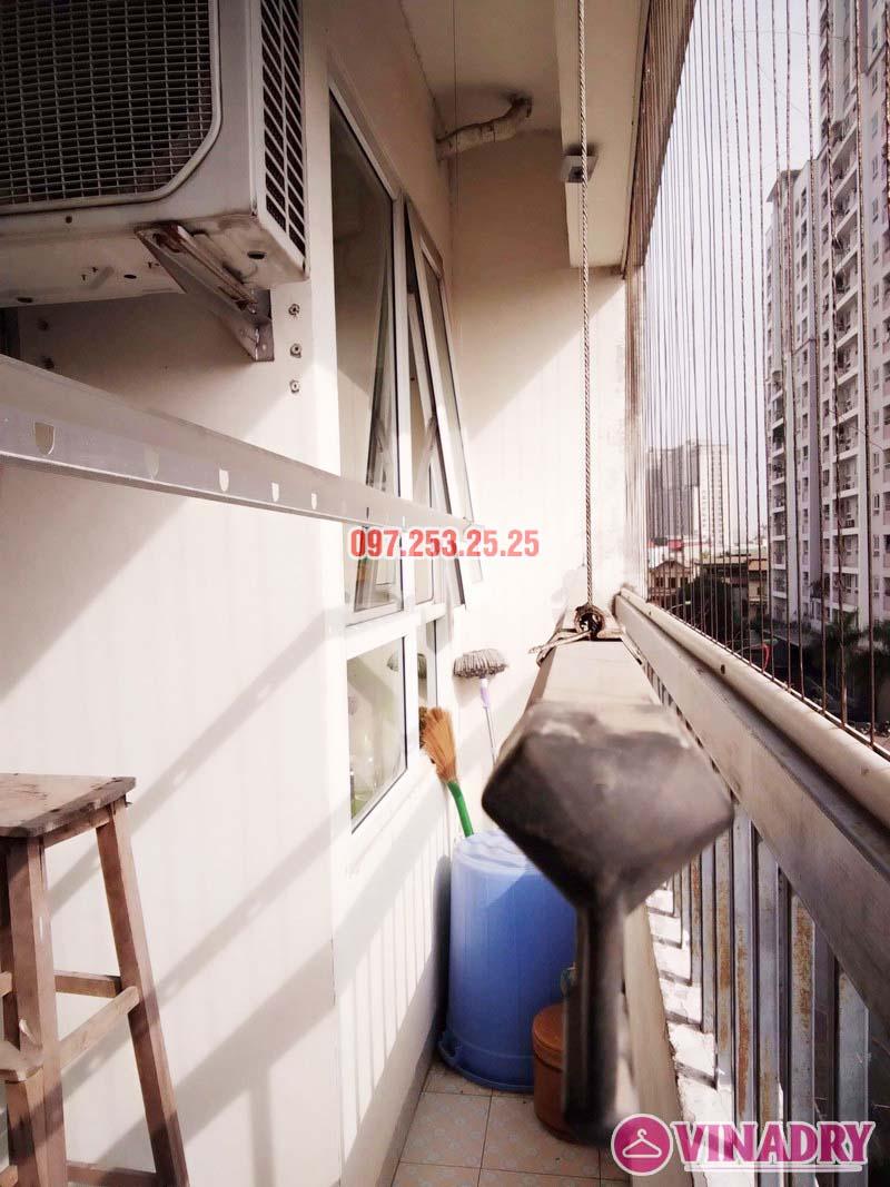 Sửa giàn phơi tại chung cư CT2 Hoàng Văn Thái, Thanh Xuân, Hà Nội nhà chị Trà - 05
