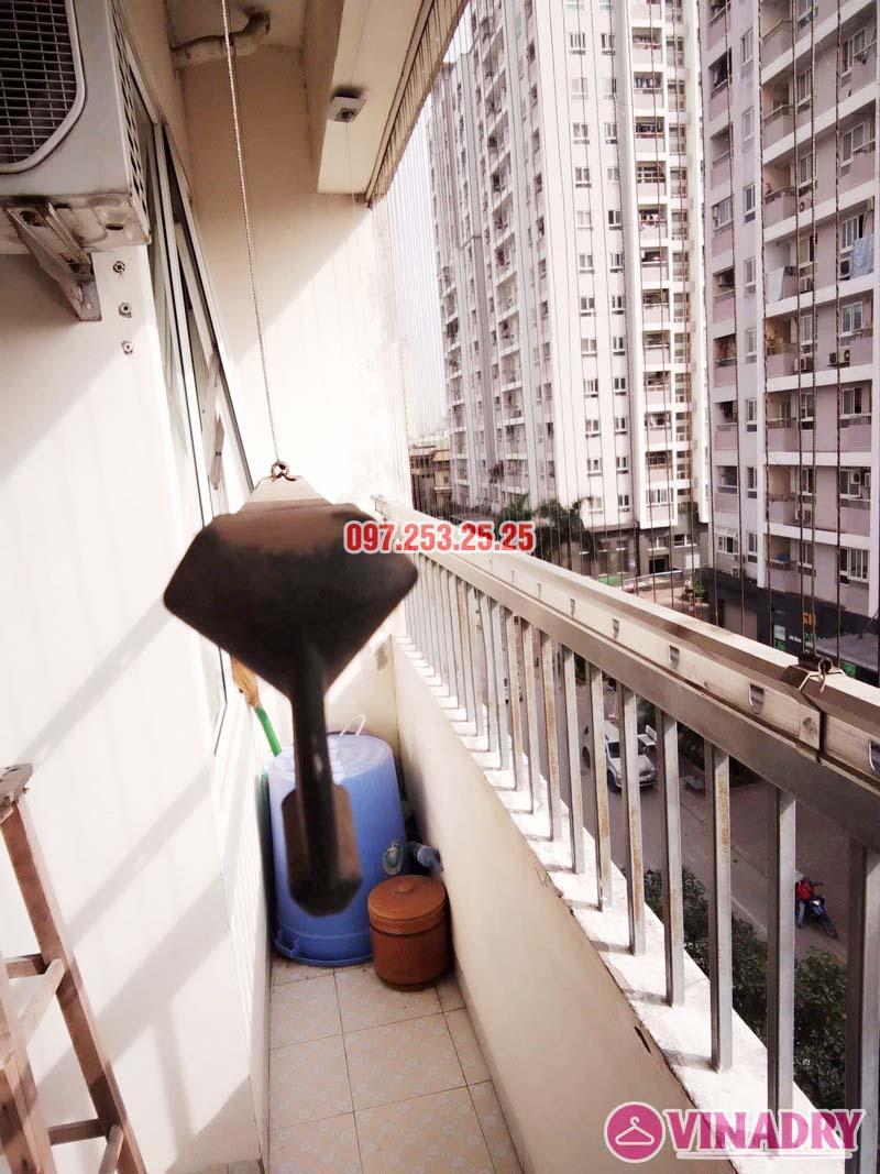 Sửa giàn phơi tại chung cư CT2 Hoàng Văn Thái, Thanh Xuân, Hà Nội nhà chị Trà - 06