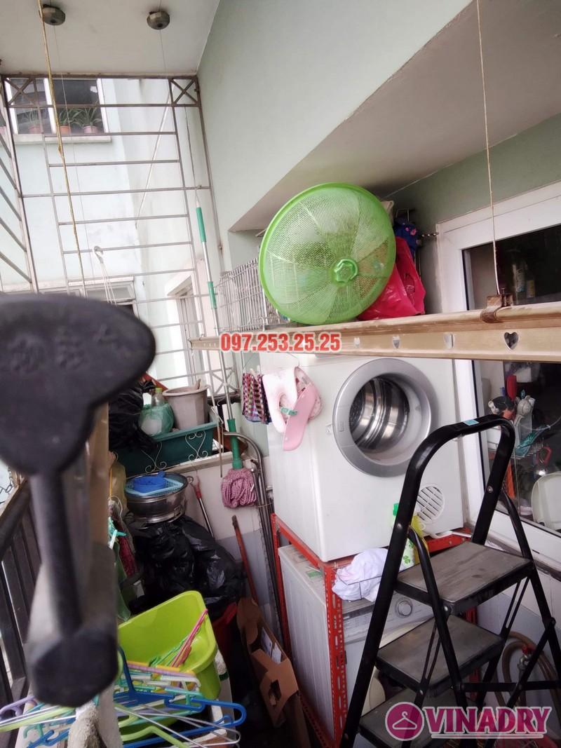 Sửa giàn phơi tại chung cư Star Tower, 283 Khương Trung, Thanh Xuân, Hà Nội nhà chị Nga - 01