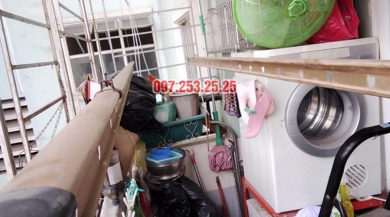 Sửa giàn phơi tại chung cư Star Tower, 283 Khương Trung, Thanh Xuân, Hà Nội nhà chị Nga - 02