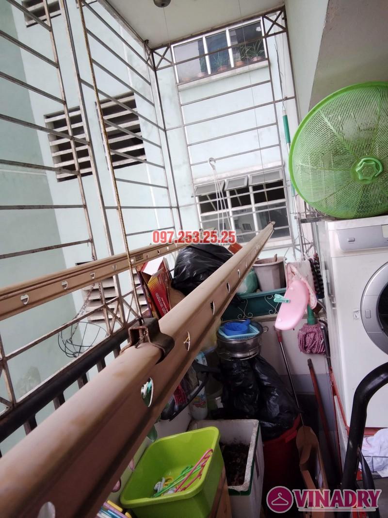 Sửa giàn phơi tại chung cư Star Tower, 283 Khương Trung, Thanh Xuân, Hà Nội nhà chị Nga - 03
