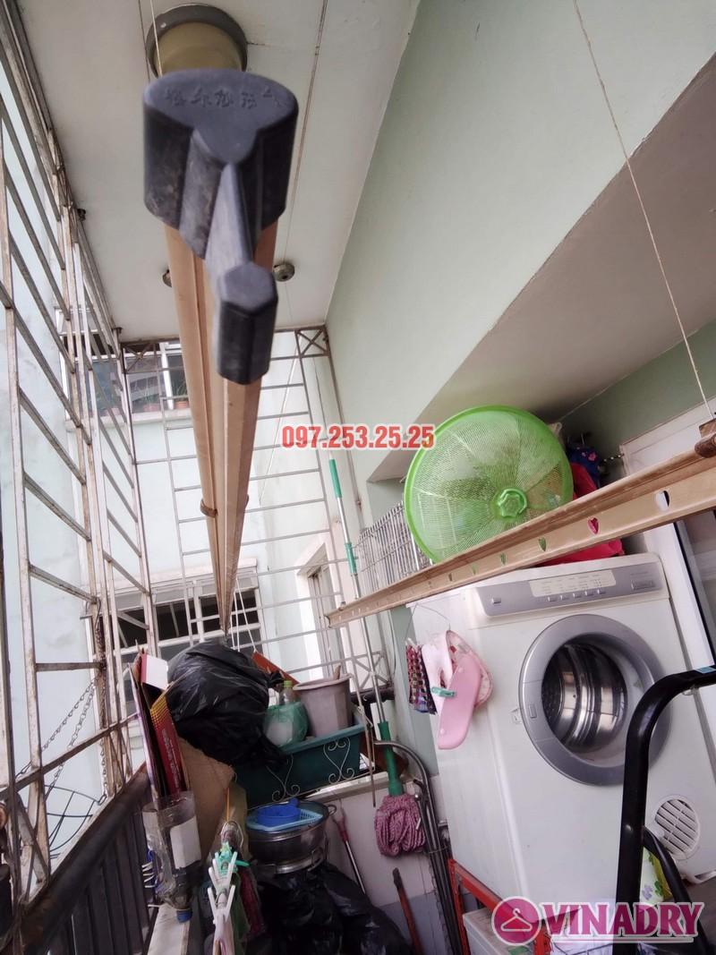 Sửa giàn phơi tại chung cư Star Tower, 283 Khương Trung, Thanh Xuân, Hà Nội nhà chị Nga - 04