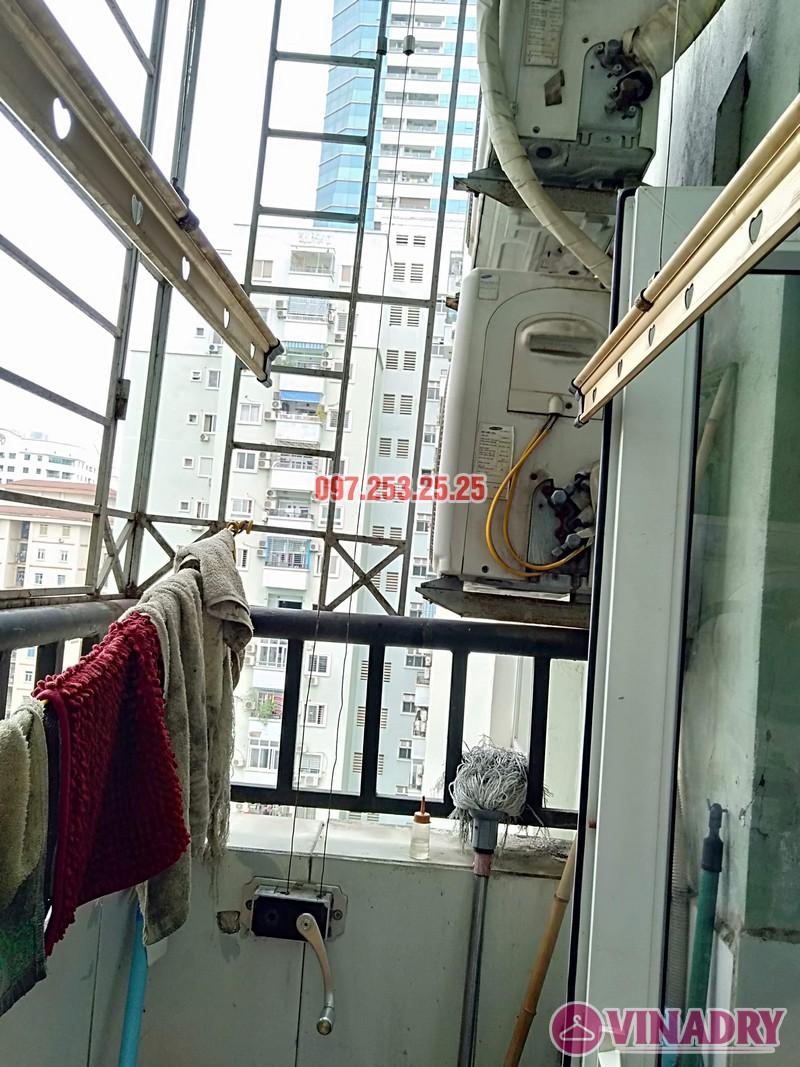 Sửa giàn phơi tại chung cư Star Tower, 283 Khương Trung, Thanh Xuân, Hà Nội nhà chị Nga - 05