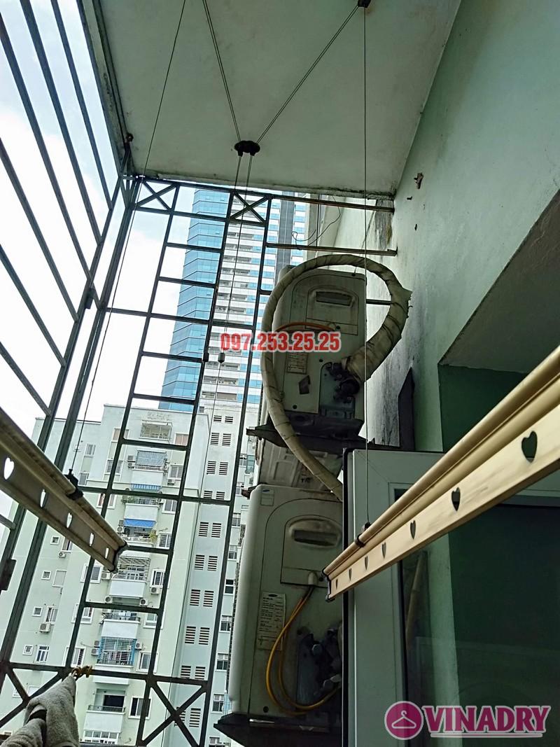 Sửa giàn phơi tại chung cư Star Tower, 283 Khương Trung, Thanh Xuân, Hà Nội nhà chị Nga - 06