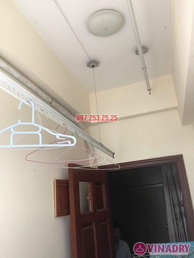 Sửa giàn phơi thông minh Thanh Xuân nhà chị Đào, chung cư 183 Hoàng Văn Thái - 01
