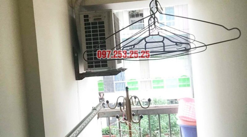 Sửa giàn phơi thông minh Thanh Xuân nhà chị Đào, chung cư 183 Hoàng Văn Thái - 03