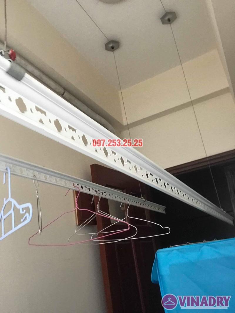 Sửa giàn phơi thông minh Thanh Xuân nhà chị Đào, chung cư 183 Hoàng Văn Thái - 04