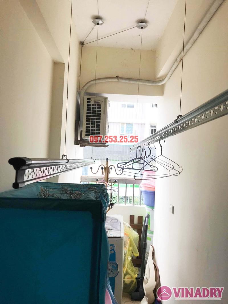 Sửa giàn phơi thông minh Thanh Xuân nhà chị Đào, chung cư 183 Hoàng Văn Thái - 06