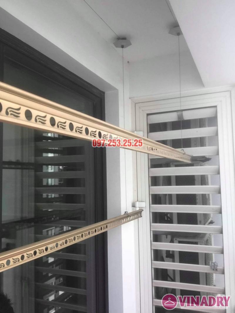 Thay dây giàn phơi thông minh giá rẻ tại Times City nhà chị Hạnh, Tòa T10 - 01