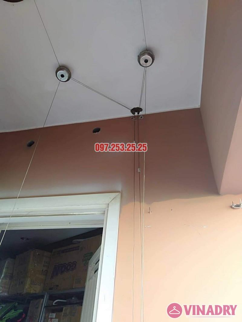 Sửa giàn phơi Bắc Từ Liêm nhà anh Hải, căn 302 tòa 3A, KĐT Resco Cổ Nhuế - 01