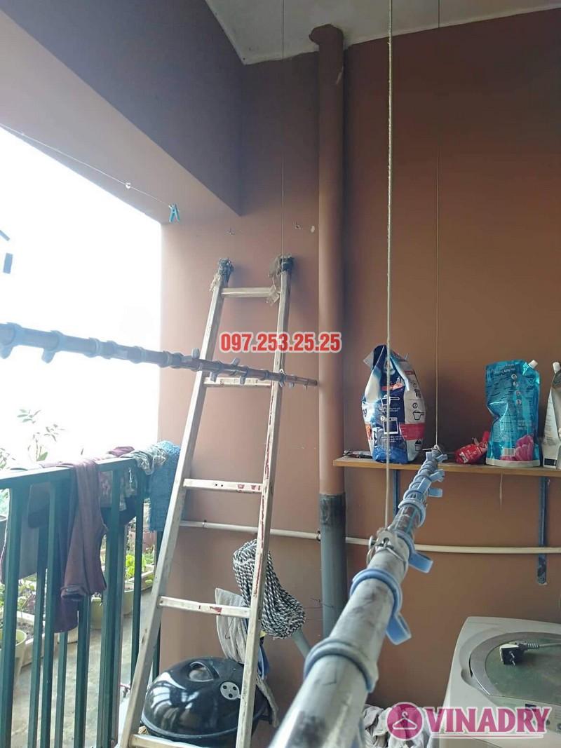 Sửa giàn phơi Bắc Từ Liêm nhà anh Hải, căn 302 tòa 3A, KĐT Resco Cổ Nhuế - 03