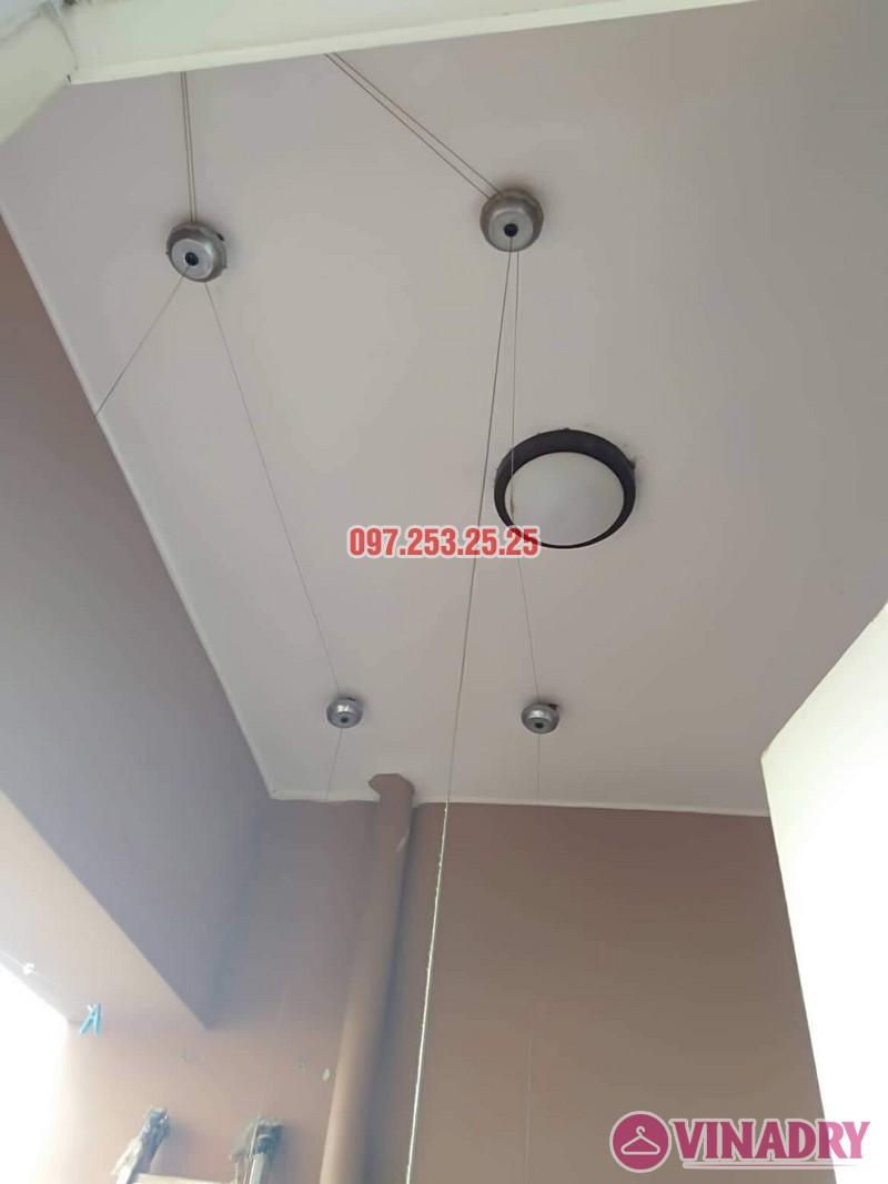 Sửa giàn phơi Bắc Từ Liêm nhà anh Hải, căn 302 tòa 3A, KĐT Resco Cổ Nhuế - 04