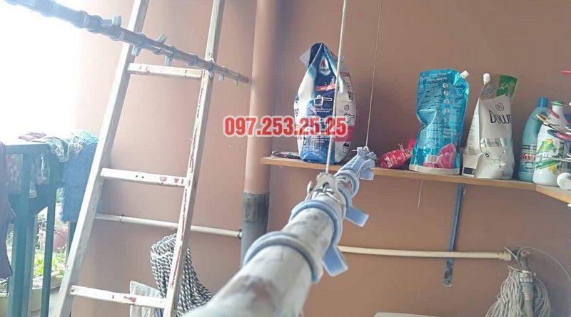 Sửa giàn phơi Bắc Từ Liêm nhà anh Hải, căn 302 tòa 3A, KĐT Resco Cổ Nhuế - 05