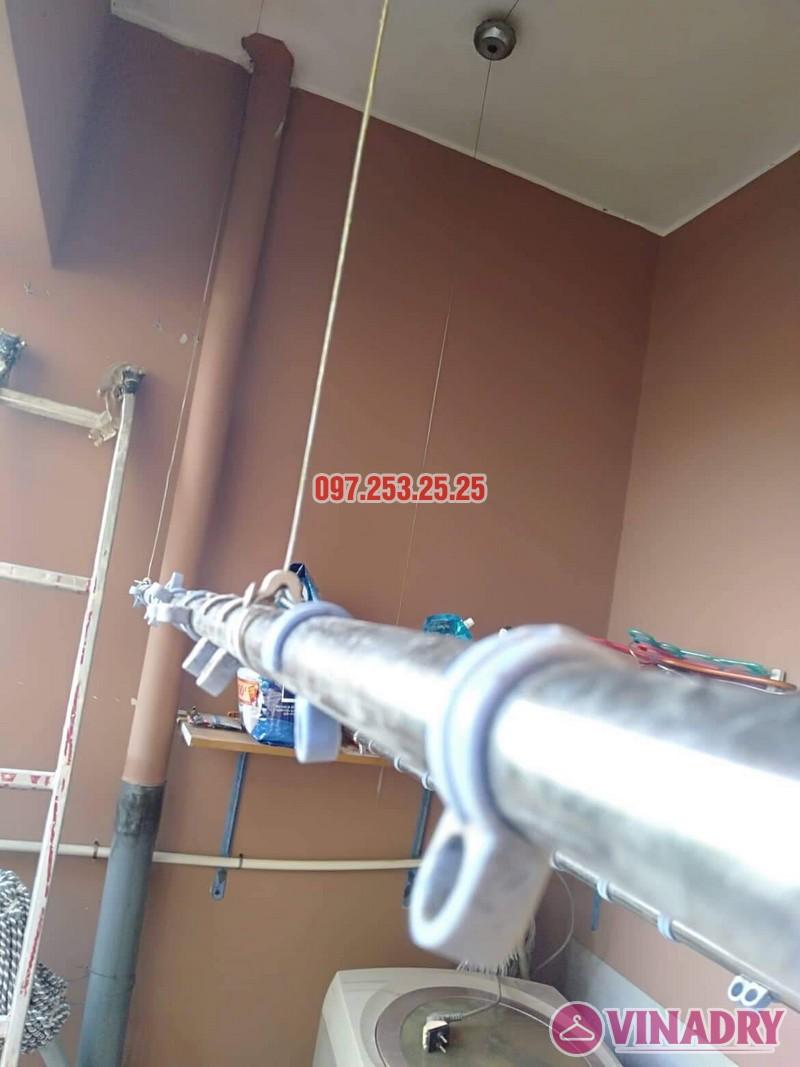 Sửa giàn phơi Bắc Từ Liêm nhà anh Hải, căn 302 tòa 3A, KĐT Resco Cổ Nhuế - 06