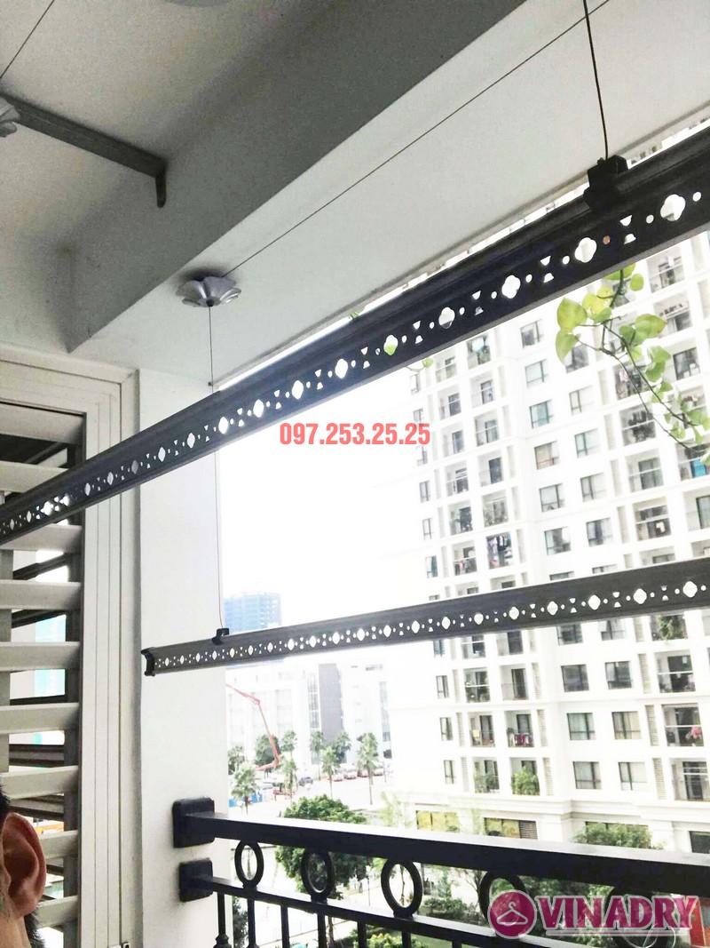 Sửa giàn phơi thông minh tại Times City bị đứt dây cáp nhà chị Hòa, Tòa T9 - 02