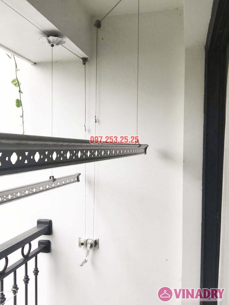 Sửa giàn phơi thông minh tại Times City bị đứt dây cáp nhà chị Hòa, Tòa T9 - 03