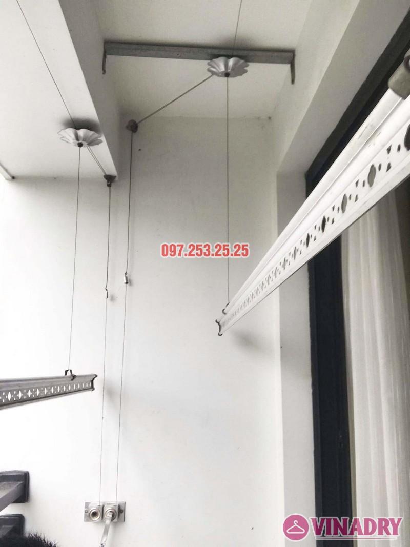 Sửa giàn phơi thông minh tại Times City bị đứt dây cáp nhà chị Hòa, Tòa T9 - 04