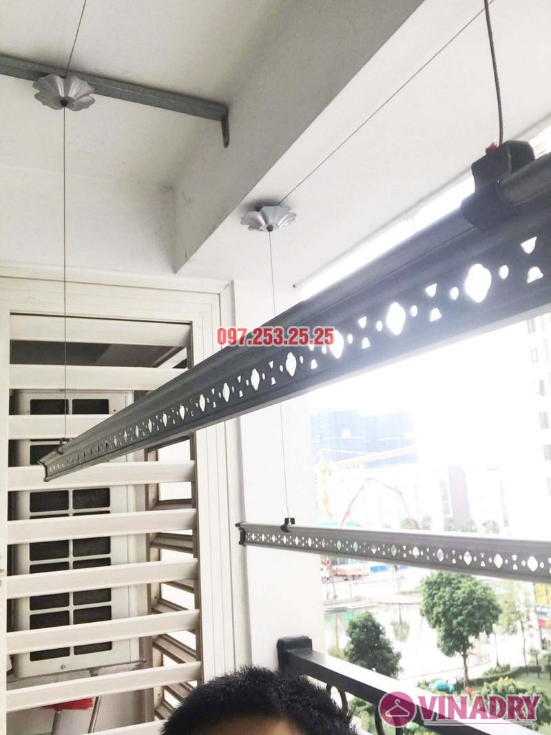 Sửa giàn phơi thông minh tại Times City bị đứt dây cáp nhà chị Hòa, Tòa T9 - 05