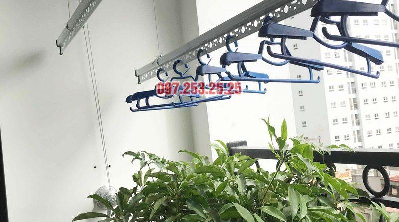Sửa giàn phơi - thay bộ tời giàn phơi tại Times City nhà anh Kiên, Tòa T8 - 01
