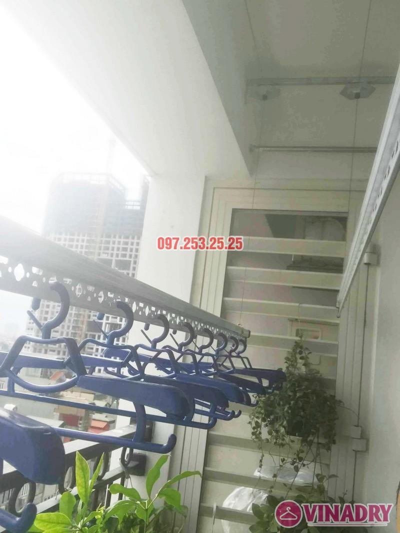 Sửa giàn phơi - thay bộ tời giàn phơi tại Times City nhà anh Kiên, Tòa T8 - 02