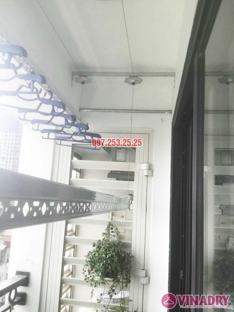 Sửa giàn phơi - thay bộ tời giàn phơi tại Times City nhà anh Kiên, Tòa T8 - 03