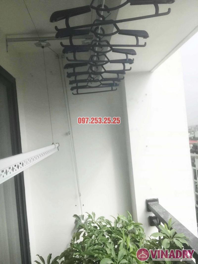 Sửa giàn phơi - thay bộ tời giàn phơi tại Times City nhà anh Kiên, Tòa T8 - 04