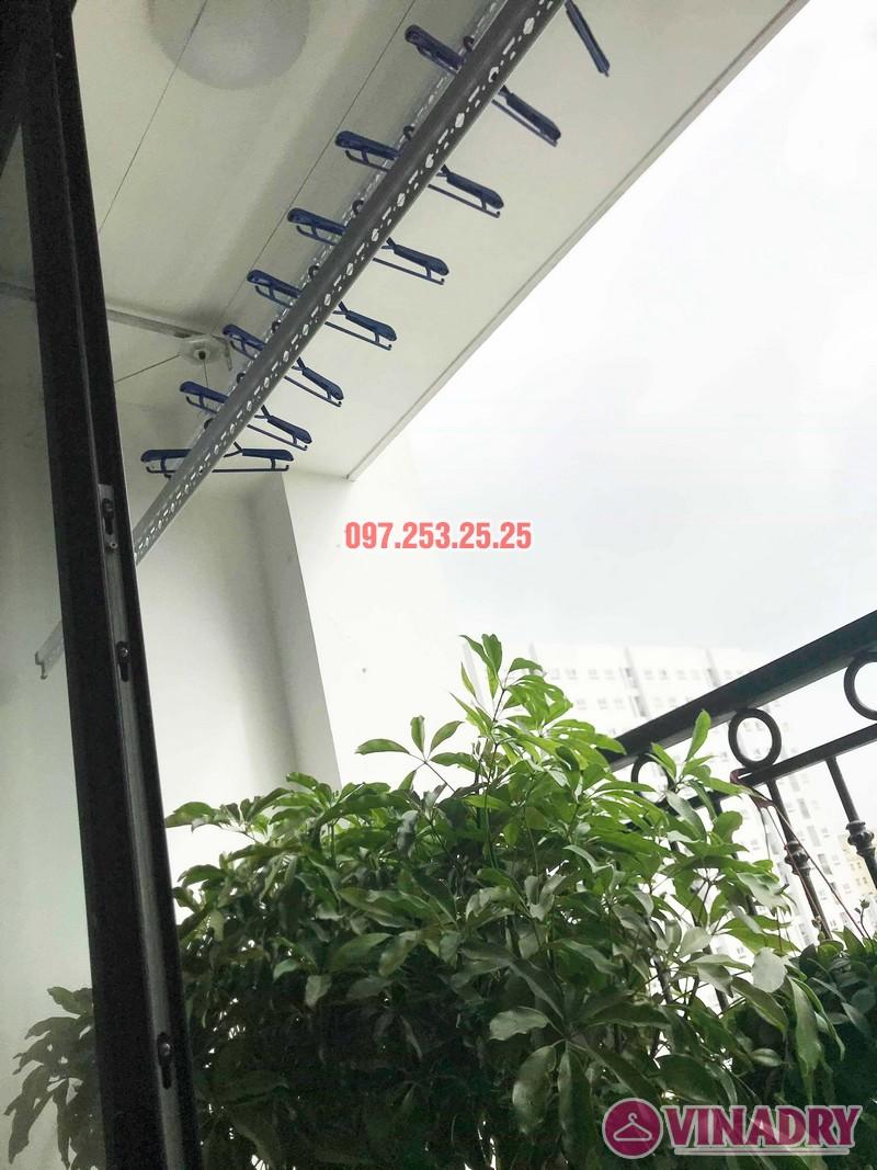 Sửa giàn phơi - thay bộ tời giàn phơi tại Times City nhà anh Kiên, Tòa T8 - 06