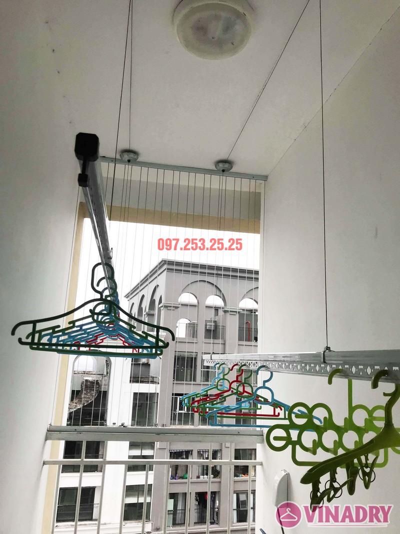 Thay dây giàn phơi thông minh giá rẻ tại Hà Nội nhà anh Kiên, KĐT Việt Hưng - 06