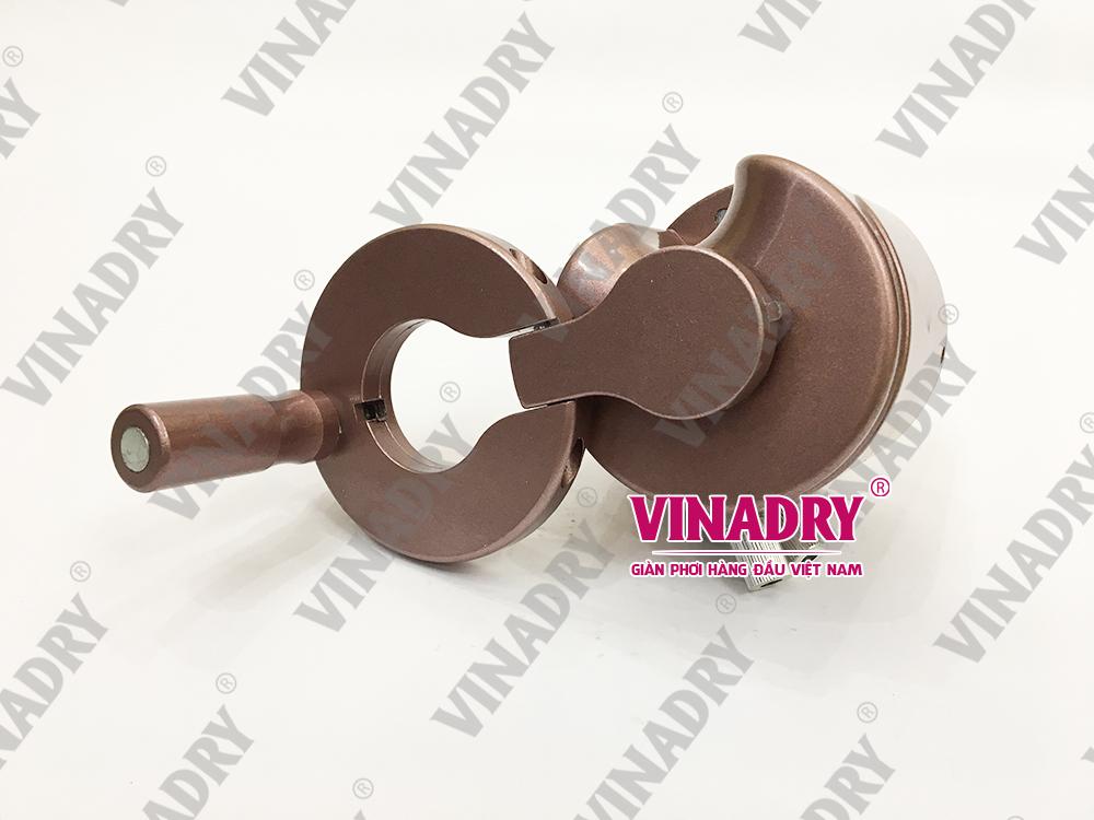 VINADRY GP192 - Bộ giàn phơi thông minh tay quay có thể gấp gọn tiện dụng, thẩm mỹ cao