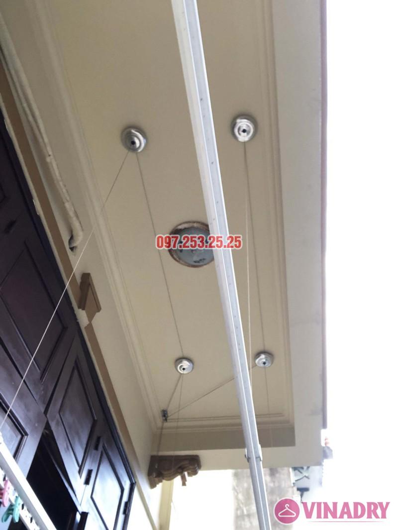 Lắp giàn phơi cho ban công 2,5 m2 nhà cô Yến, ngõ 162 Cổ Nhuế, Hà Nội - 04