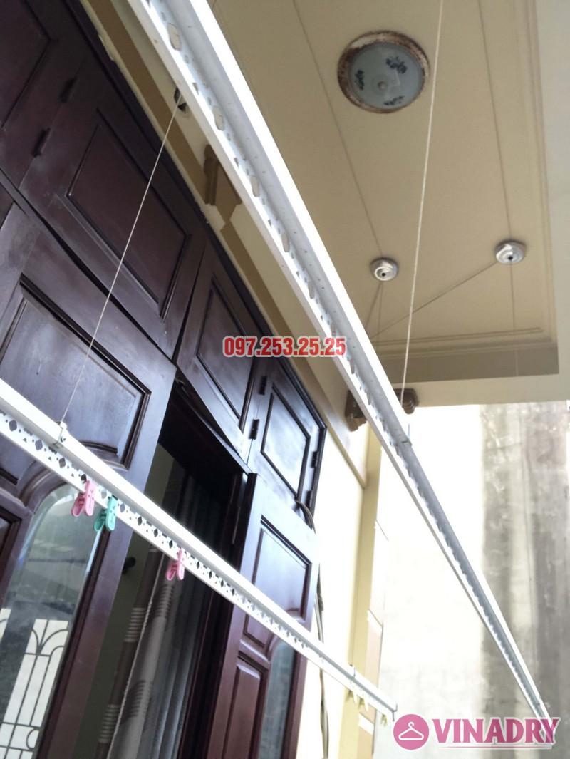 Lắp giàn phơi cho ban công 2,5 m2 nhà cô Yến, ngõ 162 Cổ Nhuế, Hà Nội - 05