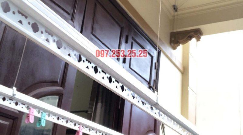 Lắp giàn phơi cho ban công 2,5 m2 nhà cô Yến, ngõ 162 Cổ Nhuế, Hà Nội - 06