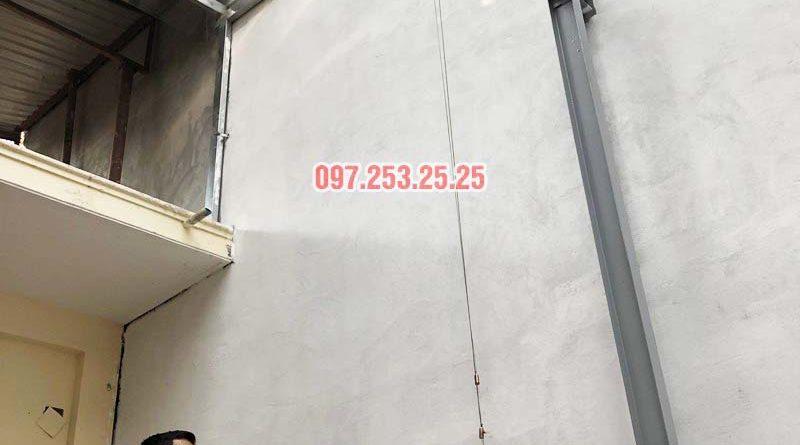 Lắp giàn phơi Ba Đình bộ Hòa Phát hp903 nhà anh Tiến, ngõ 60 Linh Lang - 03